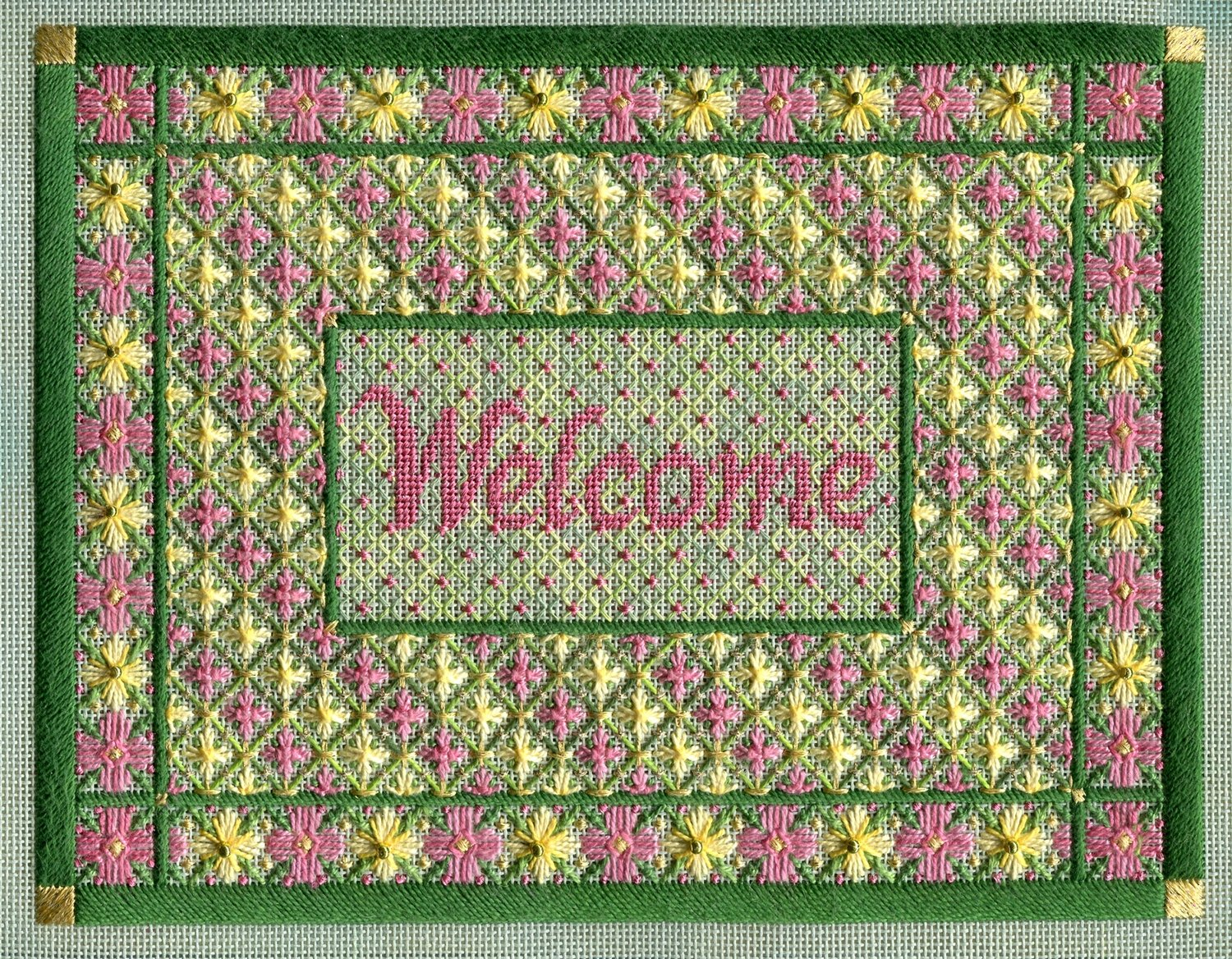 SM092-FLORAL WELCOME