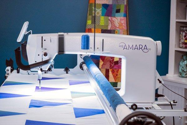 HQ Amara Quilt Machine with frame