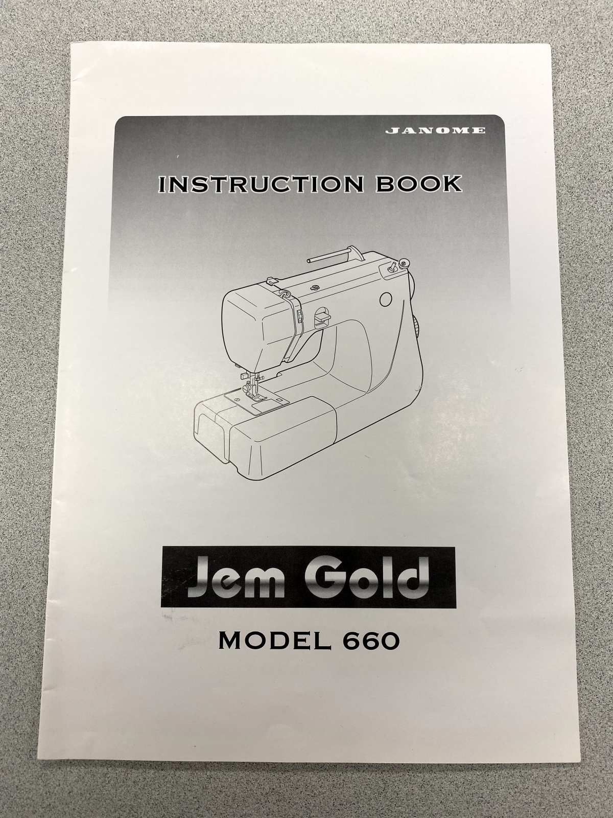 Janome gold 660