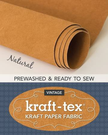 Kraft-tex Roll Natural Prewashed