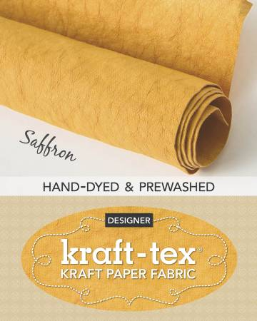 Kraft-Tex Roll Saffron Hand-Dyed & Prewashed