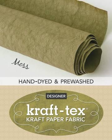 Kraft-Tex Roll Moss Hand-Dyed & Prewashed