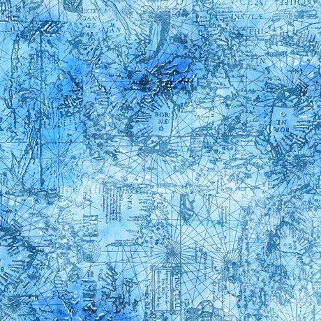 SMOOTH SAILING-MAP BLENDER-BLUE