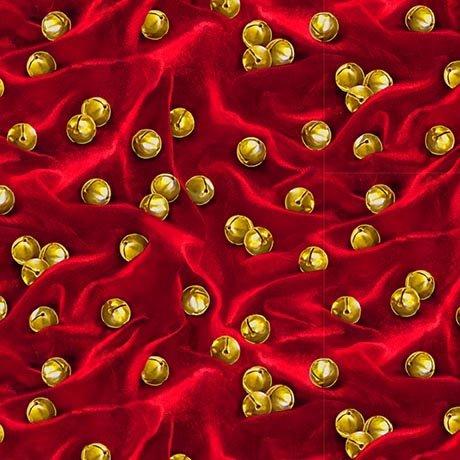 Jingle Bells - Dark Red 27262 -R - Santa's List