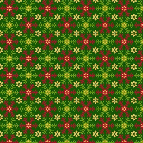 Set Snowflakes - Forest 27263 -F - Santa's List