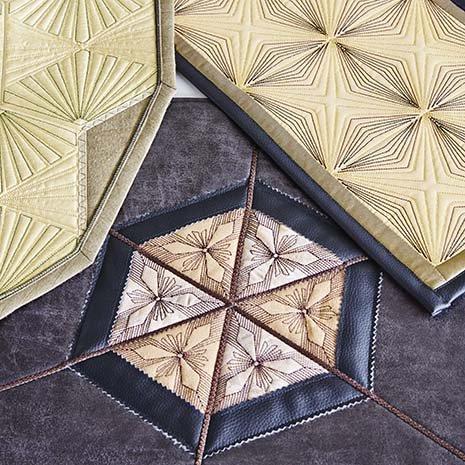 Pfaff Geometric Quilt Block Embroidery Software
