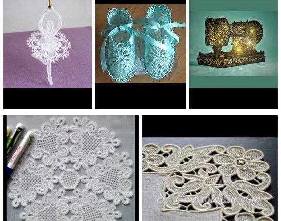 Free Standing Lace And Lace Work Demo