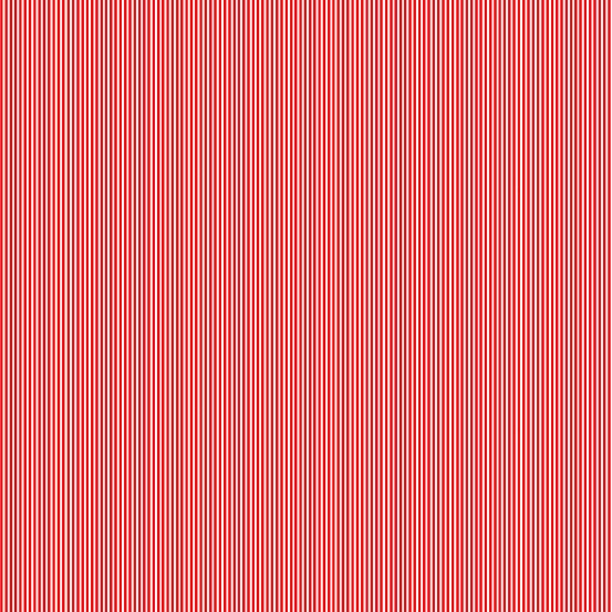 Pin Stripe Red