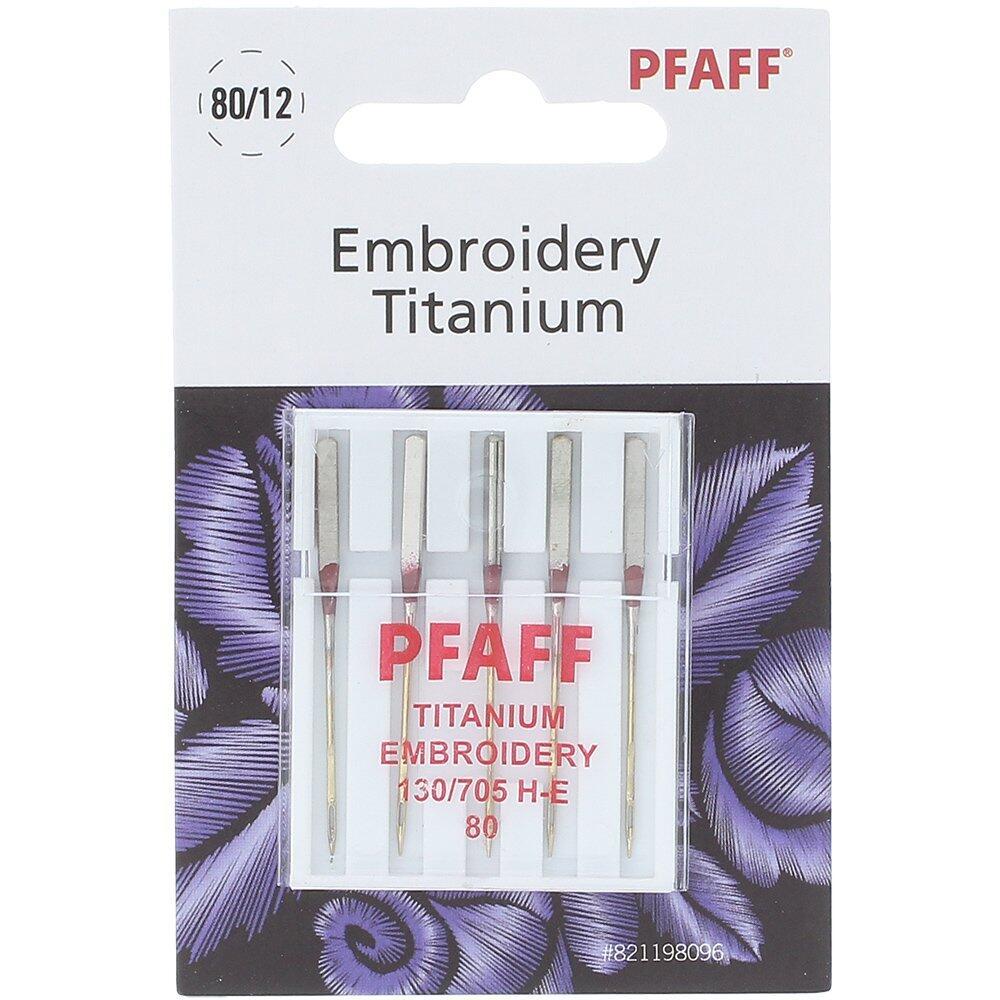 PFAFF Embroidery Titanium 80/12