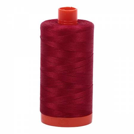 Mako Cotton Thread Solid 50wt 1422yds Red Wine