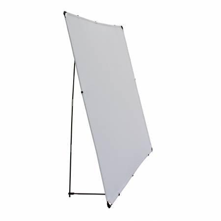 Portable Design Wall 72in Square Grey