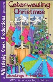Caterwauling Christmas Stockings & Tree Skirt
