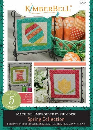 Machine Embroider By Number Spring Collection