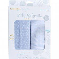 KDKB219 - Gray Infant Bodysuit Set; 9-12 Mo