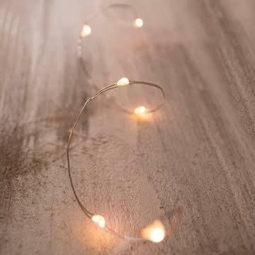 Moonlights (Silver Wire)  11.5 feet