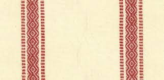 Moda Toweling Scand. Red/Cream 16
