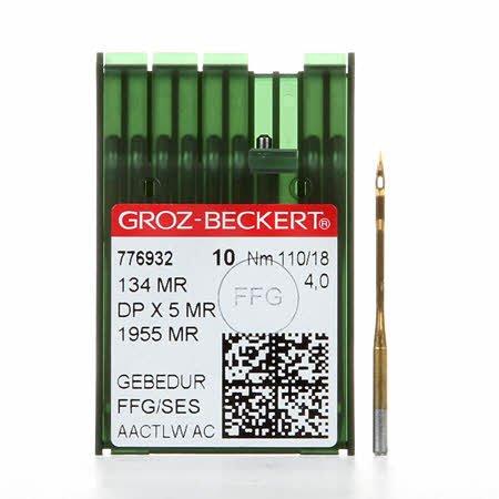 Longarm Machine Needles Size18 4.0 - 10 per Card
