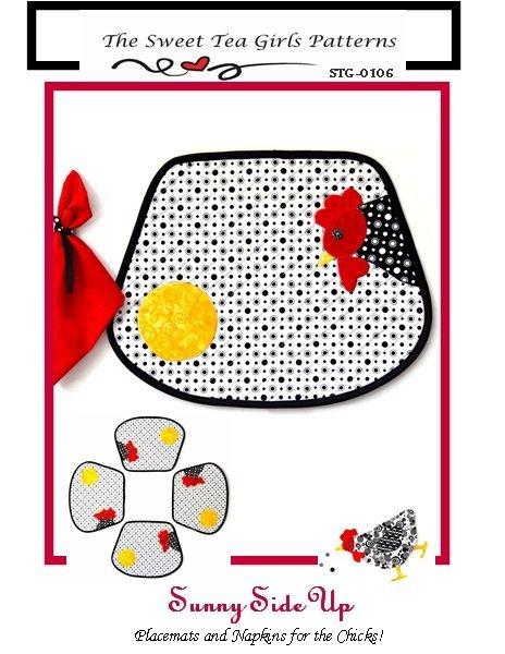 Sunny Side Up Placemats and NapkinsSweet Clutches Hardware Kit