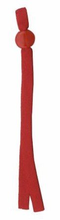 Drawstring Mask Elastic Red 8in 1ct