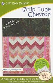 Strip Tube Chevron Pattern