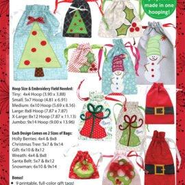 Kimberbell: It's A Cinch! Gift Bags, Vol. 2 Christmas