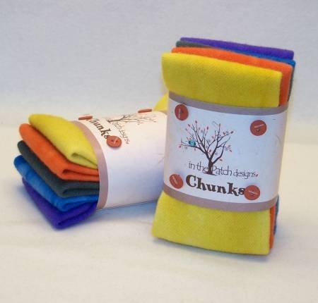 Smoky Mountain Wool Chunks 5pc 9in x 10in