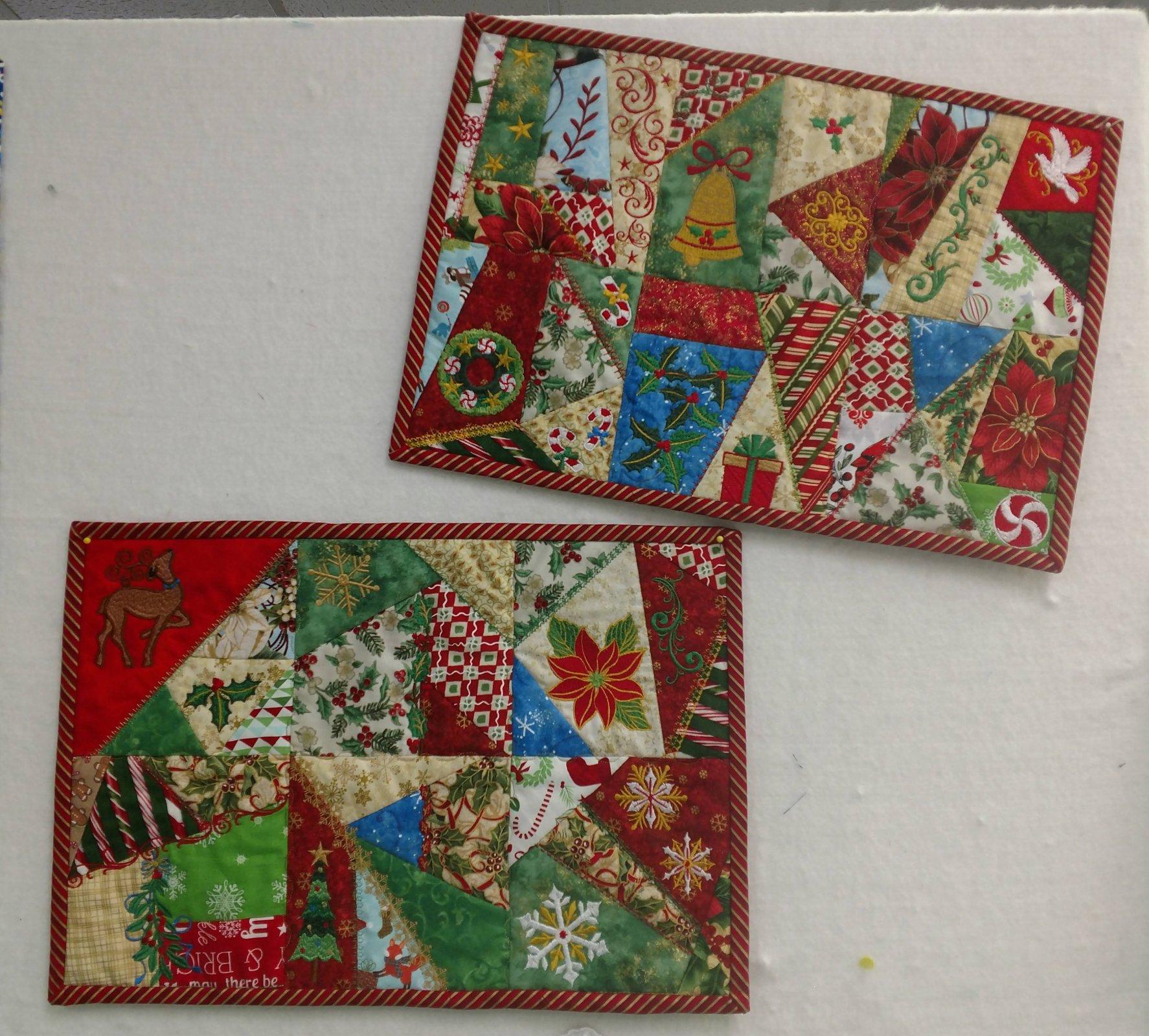 Christmas Crazy Quilt Anita Goodesign