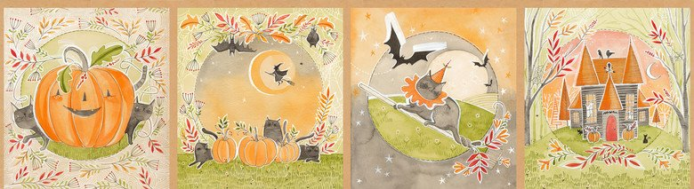Happy Halloweeny by Cori Dantini, panel