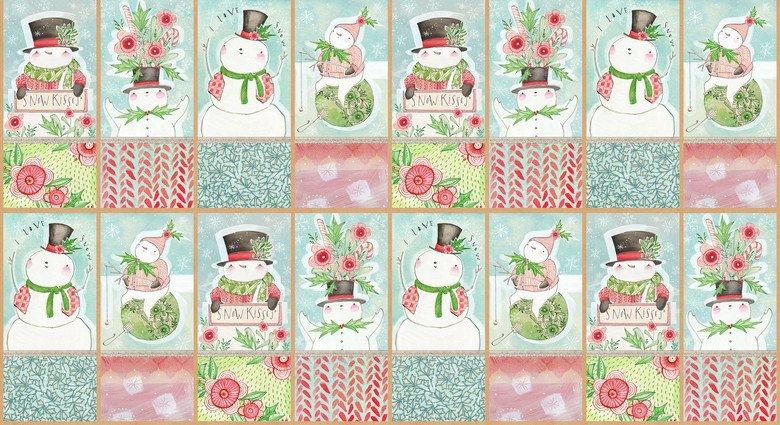 Snow Days, Cori Dantini, panel
