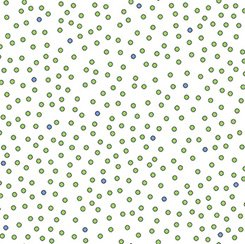 Imperial Paisley - Green Dots