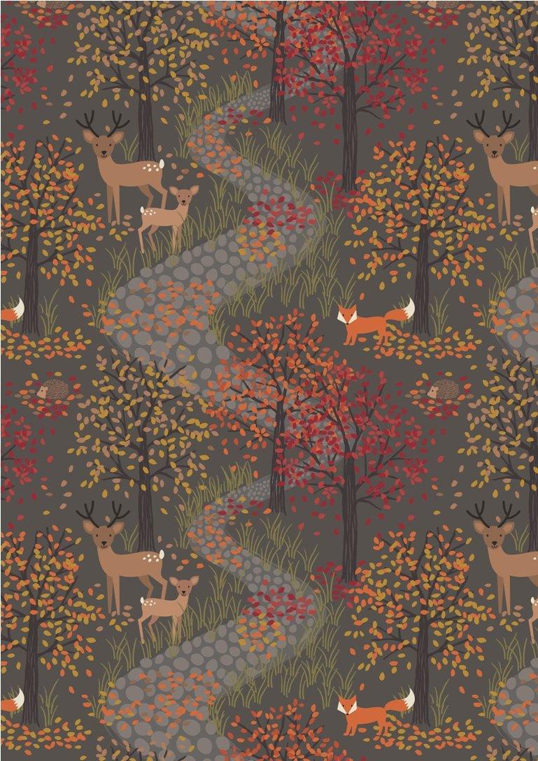 Autumn in Bluebell Wood - DUSK