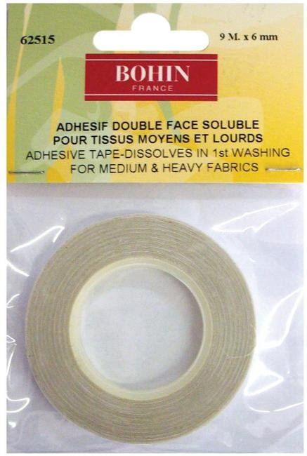 Bohin 1/4 double faced adhesive tape - 8yds