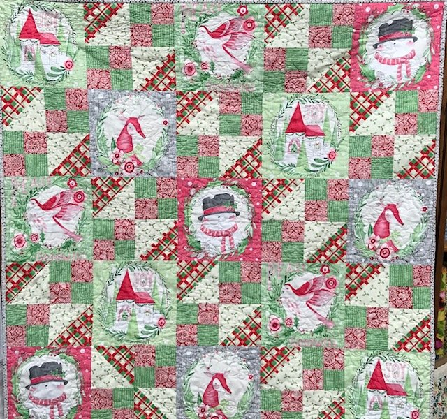 Cori Dantini Merry and Bright Quilt Kit
