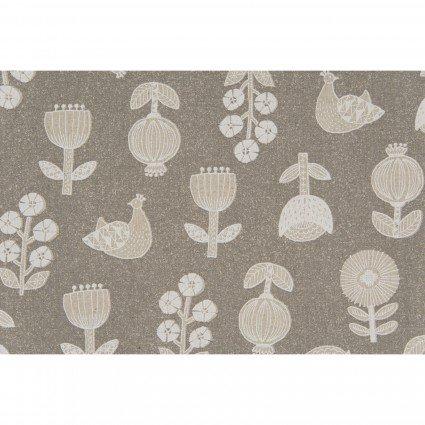 Hummingbird II Linen/Cot Woven Canvas