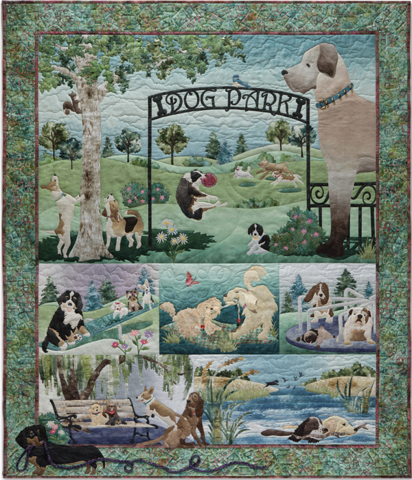 Dog Park By Mckenna Ryan Block Of The Month