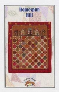 Homespun Hill Quilt Pattern by The Rabbit Factory