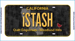 iSTASH Fabric Plate