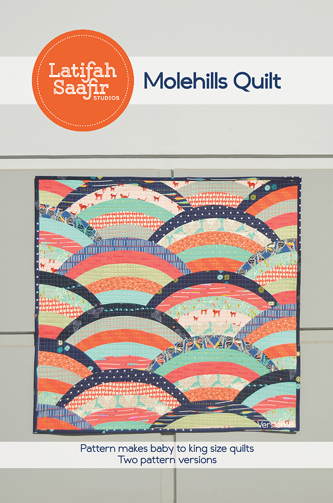 Molehills Quilt by Latifah Saafir