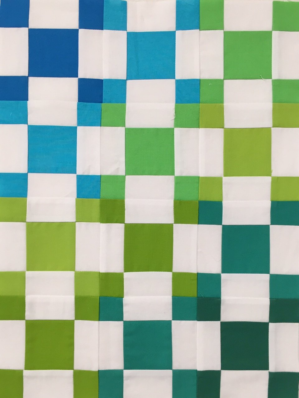 Miniature Quilt--Puss in the Corner