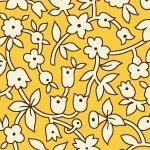 Aunt Grace   Yellow Floral
