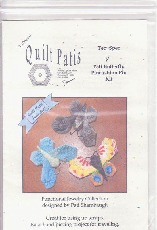 PATI BUTTERFLY PINCUSHION PIN KIT