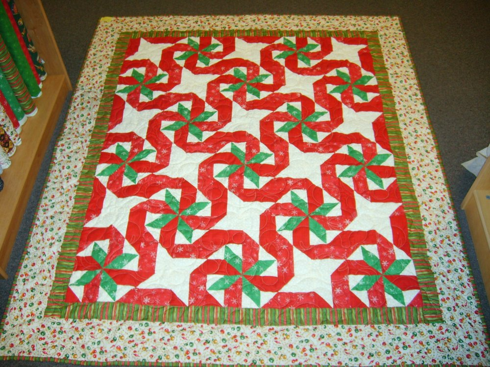 GIFT WRAPPED QUILT