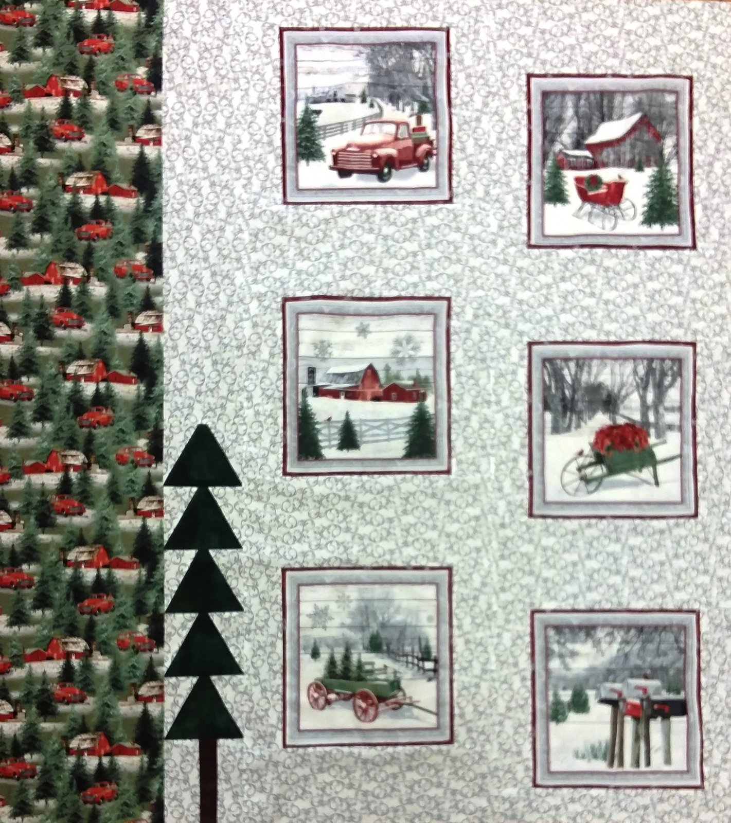 Homestead Holiday pattern