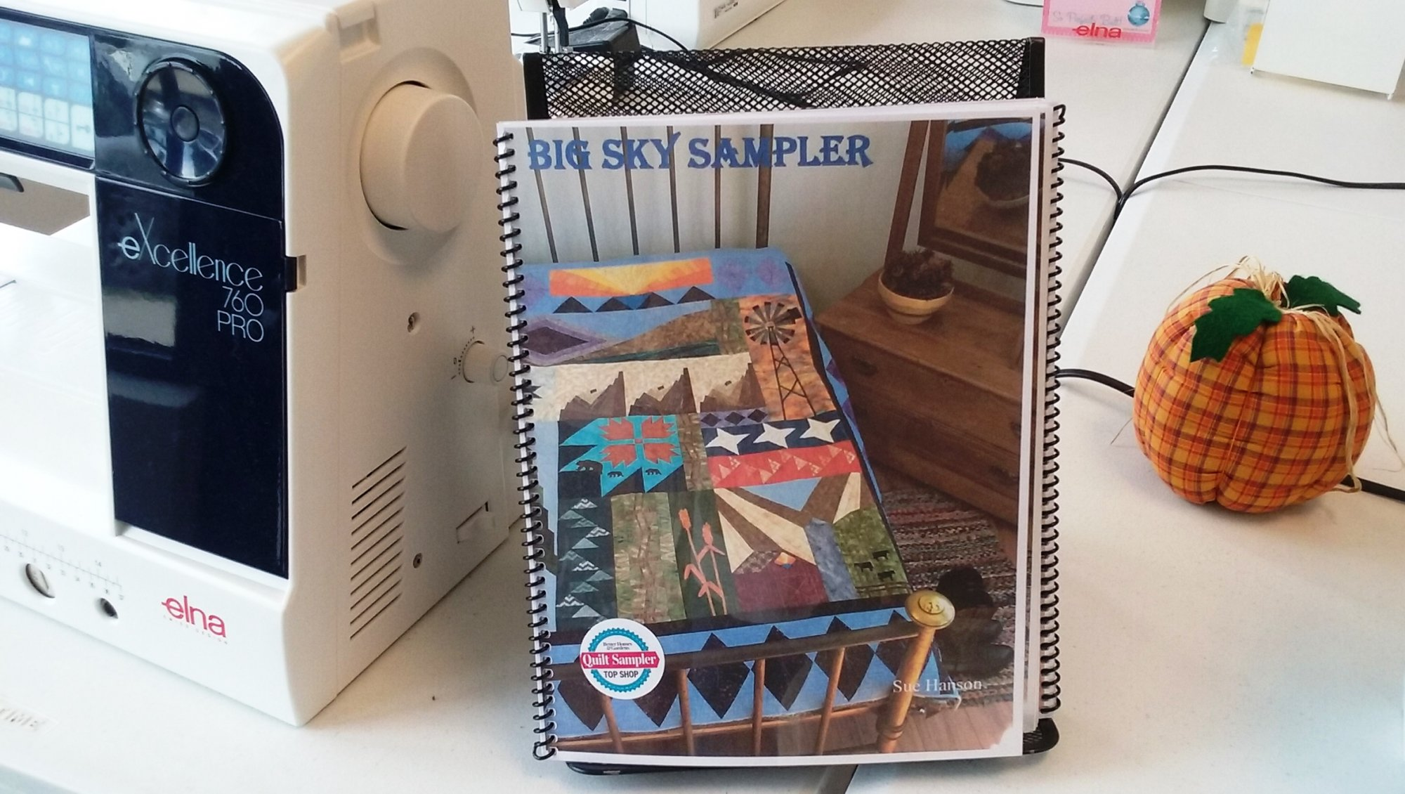 Big Sky Sampler book