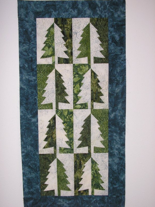 Pine Forest Wall hanging