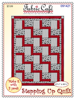 STEPPING UP 3 YD QUILT PATTERN by Fabric Cafe