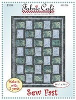 SEW FAST 3 YD QUILT PATTERN by Fabric Cafe
