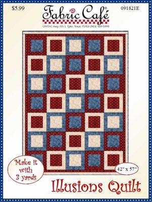 Illusions 3 Yard Quilt Pattern