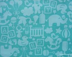 TOSSED TOY TURQUOISE by BLEND FABRICS