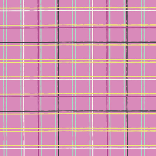 PLAID BEAT GRAPE BY ART GALLERY